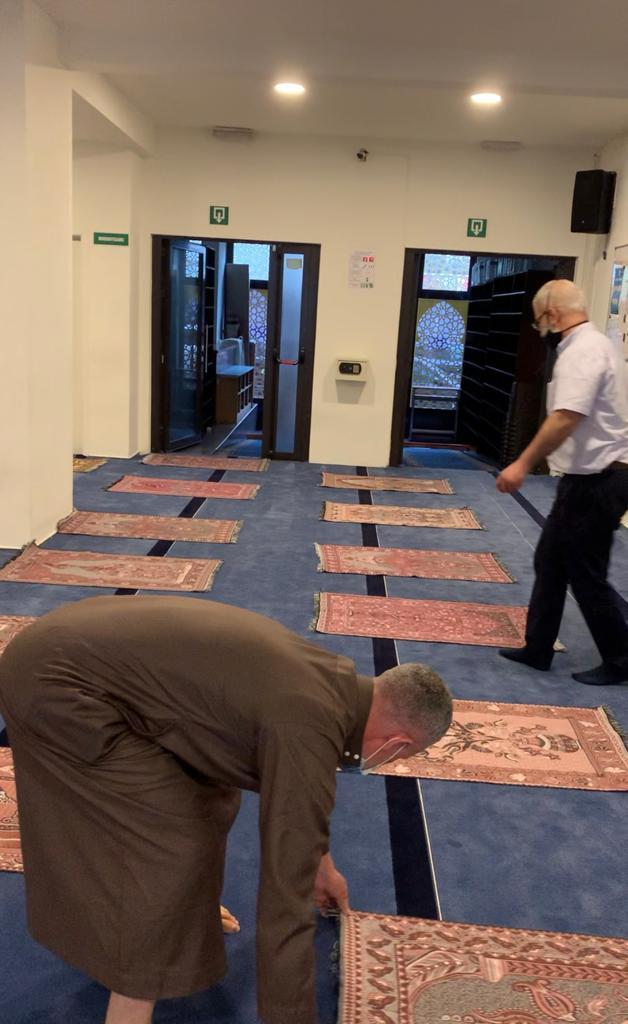 Dienst Levensbeschouwingen, moskee Amanah bereidt heropening voor, FelixArchief, inv.nr 2920#1-4.