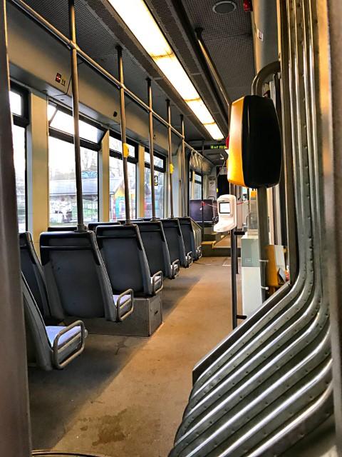 Thomas Heuser, Lege tram, FelixArchief, inv. nr 2876#62.