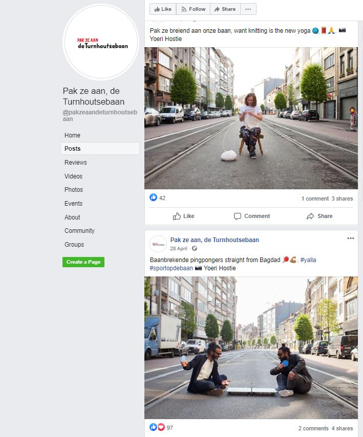 Pak ze aan, de Turnhoutsebaan, Facebookpagina, FelixArchief, inv.nr 2899#1.