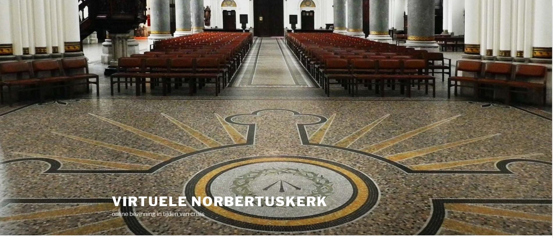 Frans Van Looveren en Dick Wursten, Startpagina van de virtuele Sint-Norbertuskerk, FelixArchief, inv.nr 2886#1.