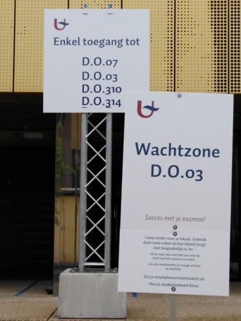 Julien Van Borm, examens op campus De Drie Eiken, FelixArchief, inv.nr 2953#1.